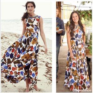 ISO Ranna Gill Finola Maxi Dress Anthropologie